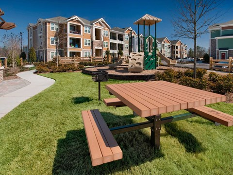 Children Playing Area at Jamison at Brier Creek, Raleigh, NC