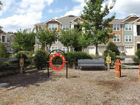 Dog Park at Jamison at Brier Creek, North Carolina, 27617