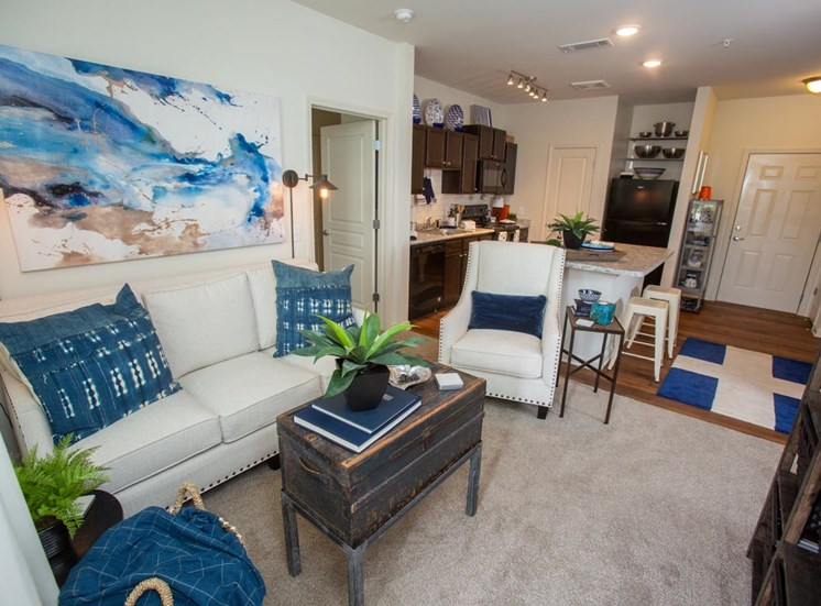 Cozy living room at Legacy at Walton Green, Augusta, GA