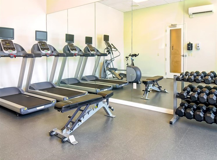 State-of-the-art Fitness Center at The Rise Old Town, Beaverton