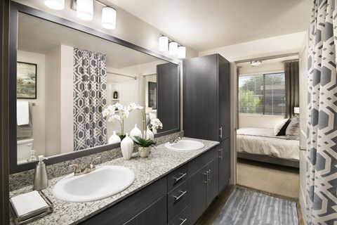 Framed Vanity Mirrors at Trellis, Arizona, 85022