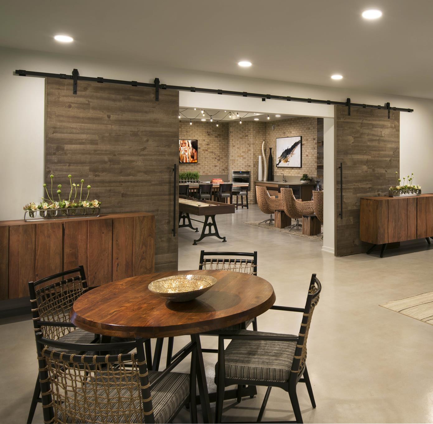 Separate Dining Area At Trellis, Phoenix, AZ