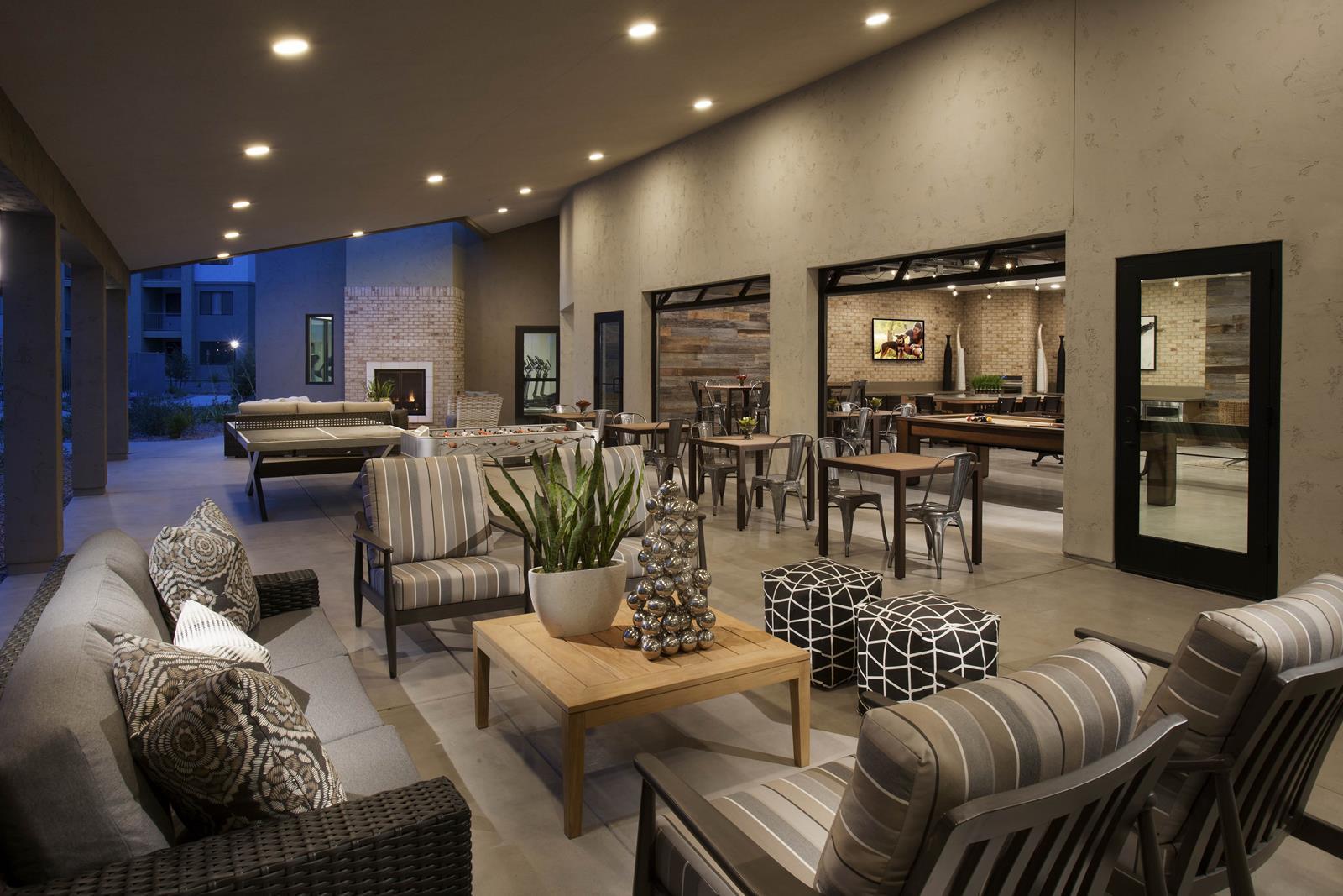 Large Resident Clubhouse At Trellis, Phoenix, AZ