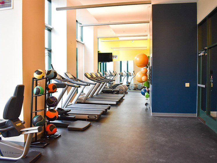 Fitness Center, Walnut on Highland in East End Pittsburgh, PA