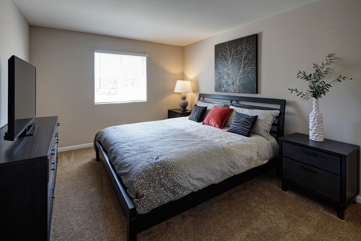 Private Master Bedroom at Carol Stream Crossing, 535 Thornhill Drive, Carol Stream