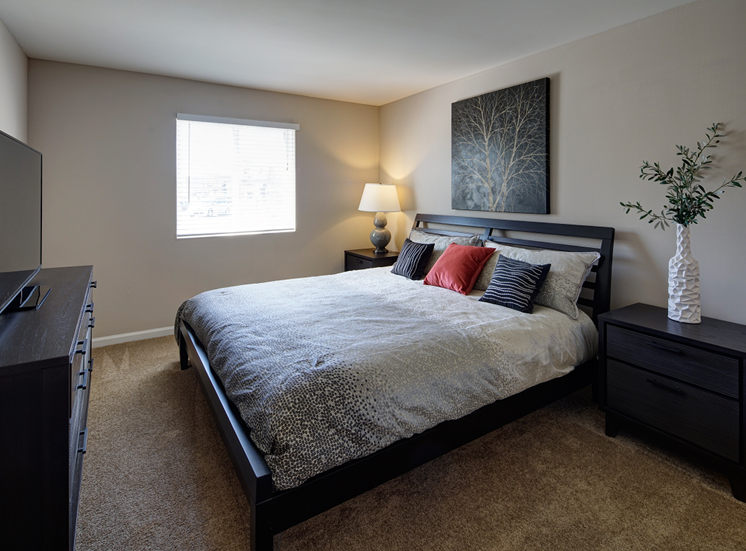 Private Master Bedroom at Carol Stream Crossing, 535 Thornhill Drive, Carol Stream