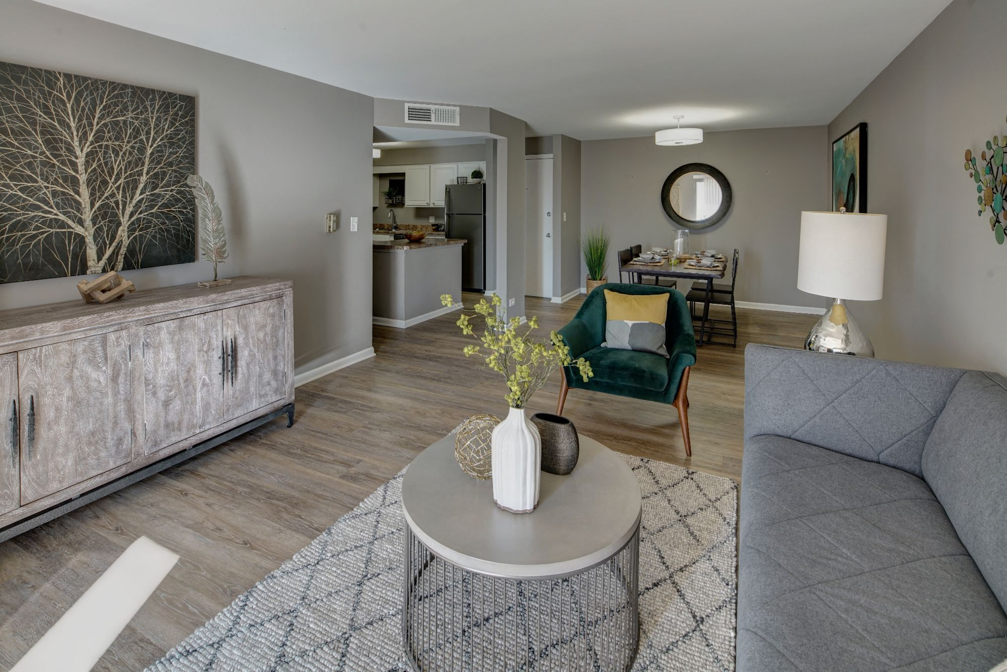 Spacious Living Room at Carol Stream Crossing, Carol Stream, 60188