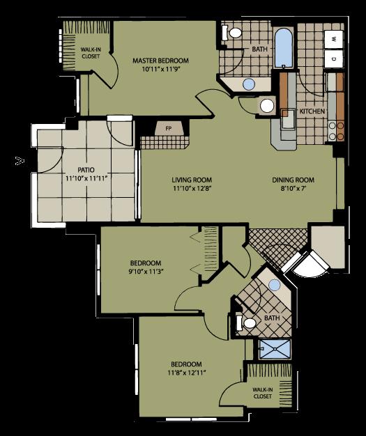 Manzanita Floor Plan 5