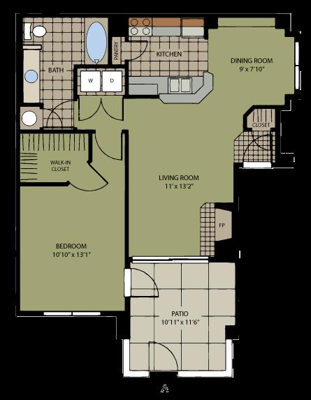 Agave Floor Plan 1