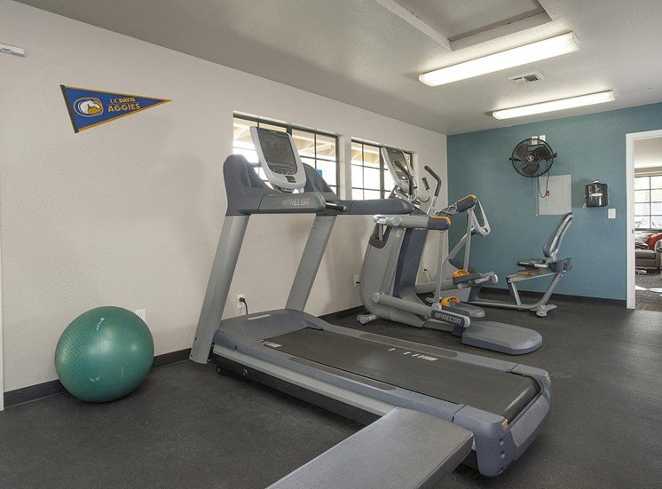 Fitness Center with Separate Spin Room at The Edge, Davis, 95618