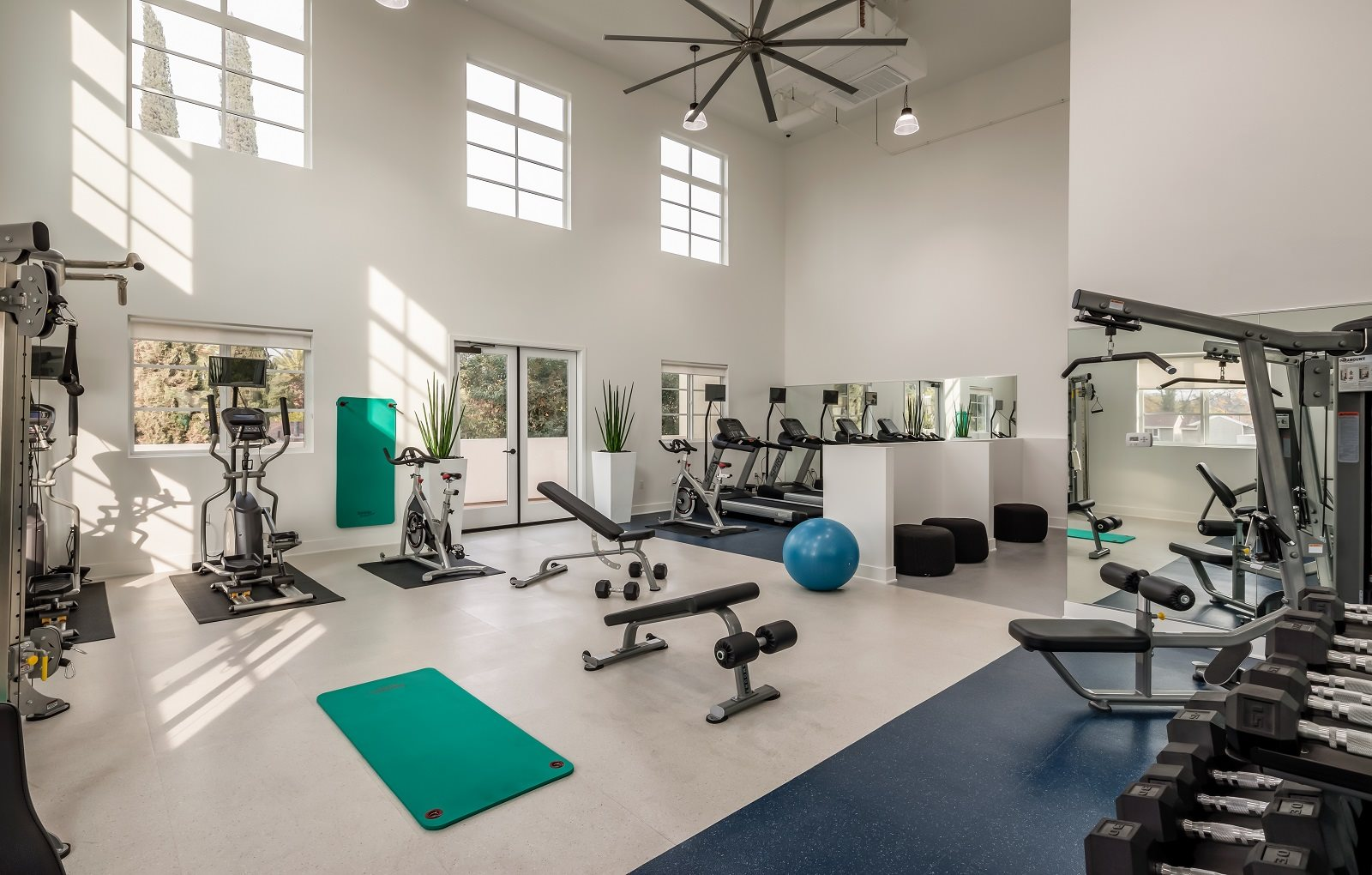 State-of-the-Art Fitness Center at Luxe, Pasadena,California
