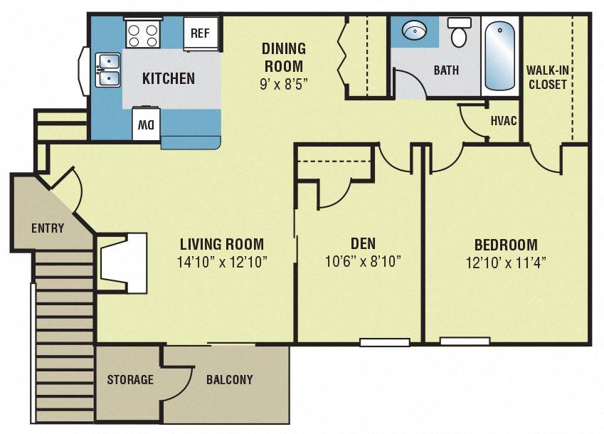 Forest Lake Newport News VA Birch Floor Plan