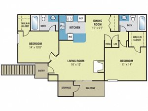 Forest Lake at Oyster Point - Dogwood Floor Plan