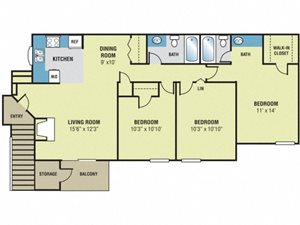 Forest Lake at Oyster Point - Elm Floor Plan