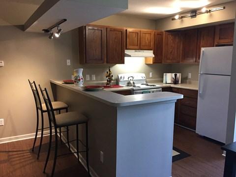 Georgetown Park Apartments Kitchen