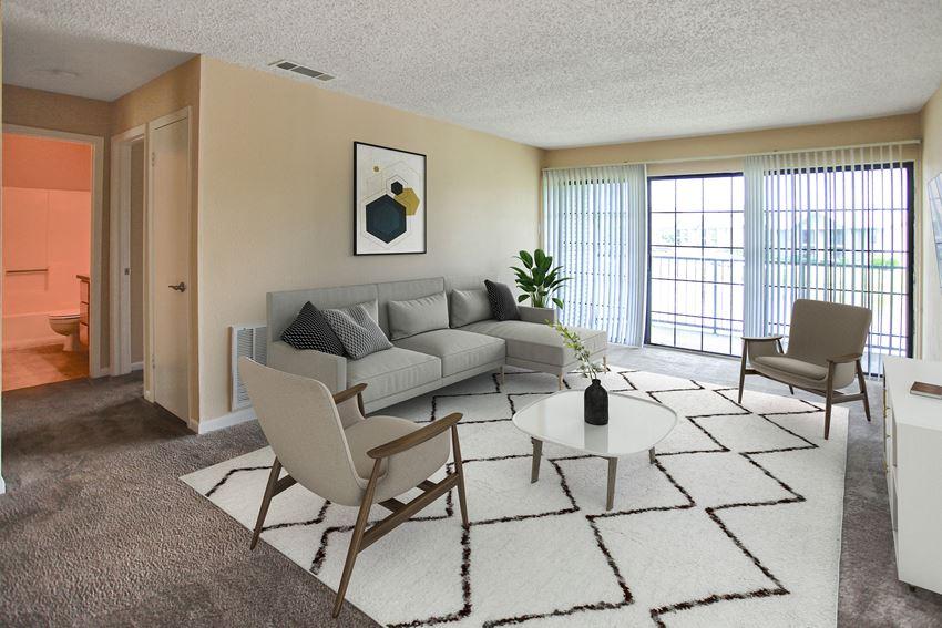Nantucket Harbor Apartments Newport News VA Living Room