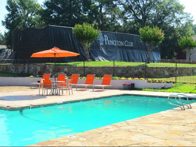 Lovely Princeton Club Apartments Longview TX Pool Deck Pictures