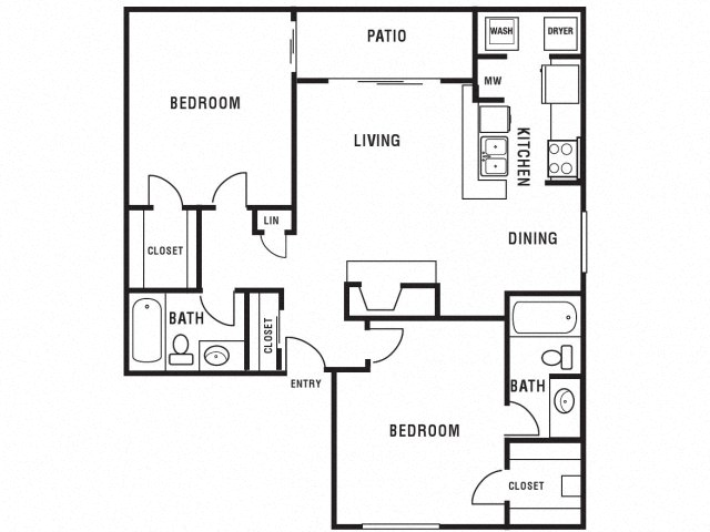 High Quality Princeton Club Apartments Monarch Floor Plan