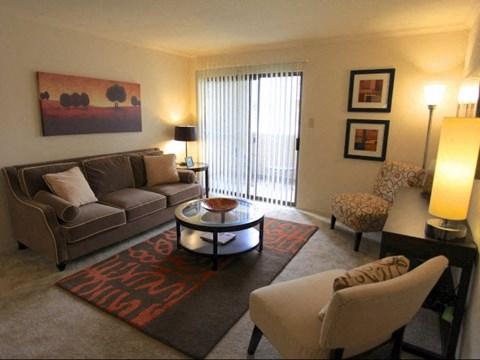 Remington Place Apartments Living Room