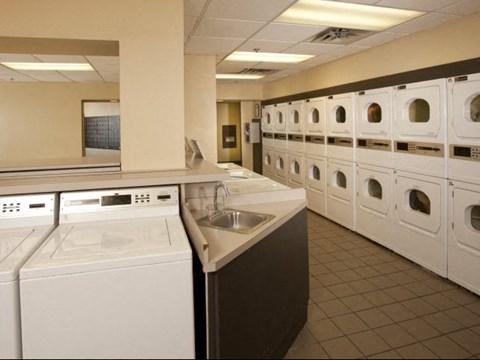The Regency Tower Laundry Facilities