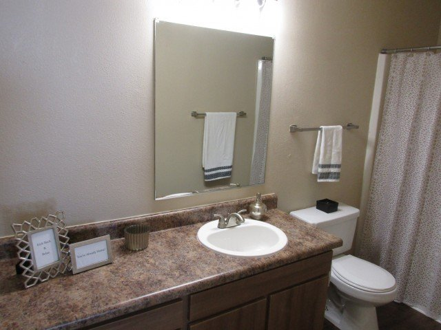 Turtle Lake Apartments Bathroom