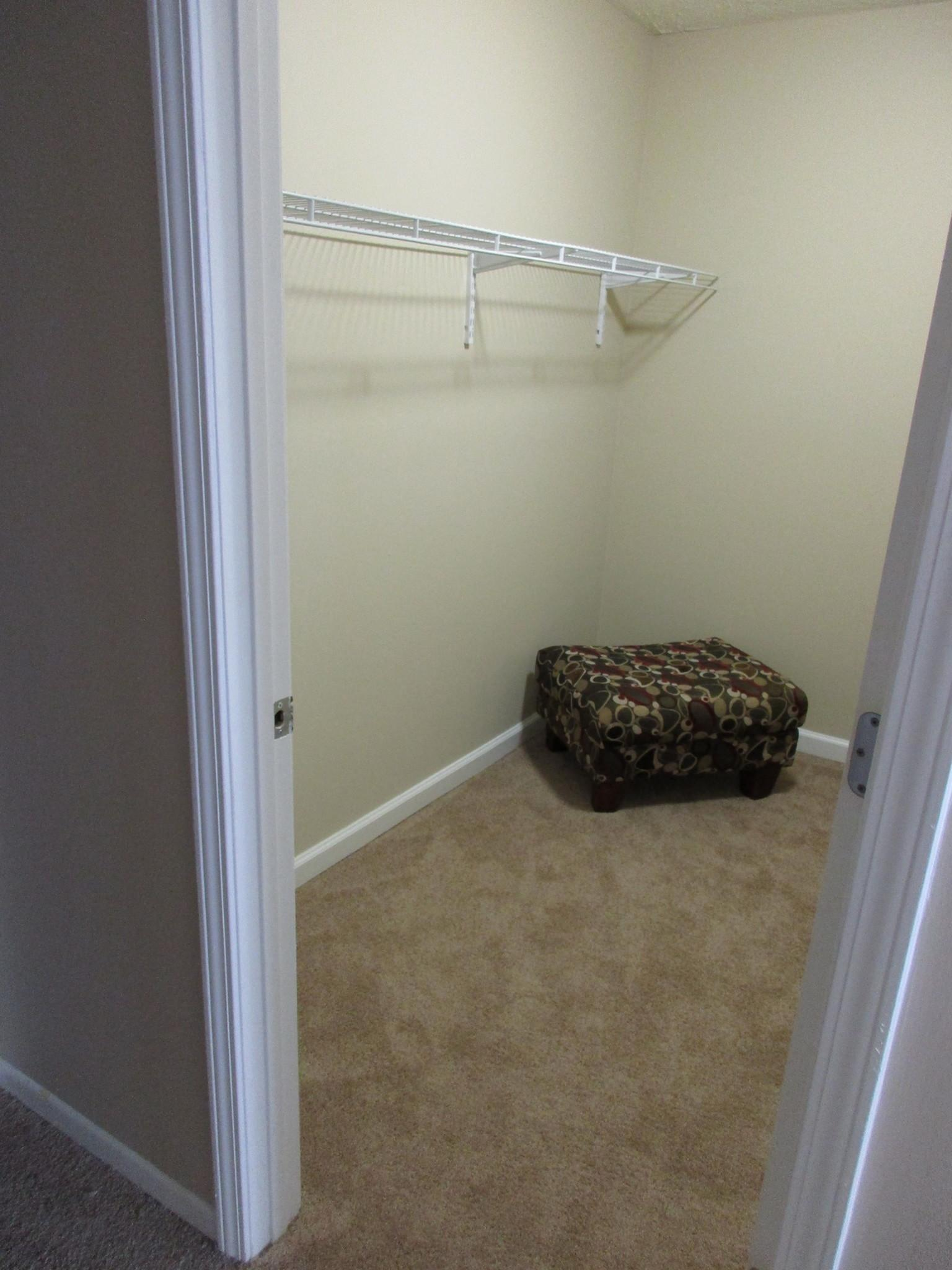 Turtle Lake Apartments Closet