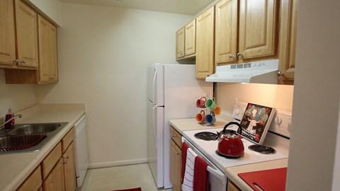 Woodscape Apartments Kitchen