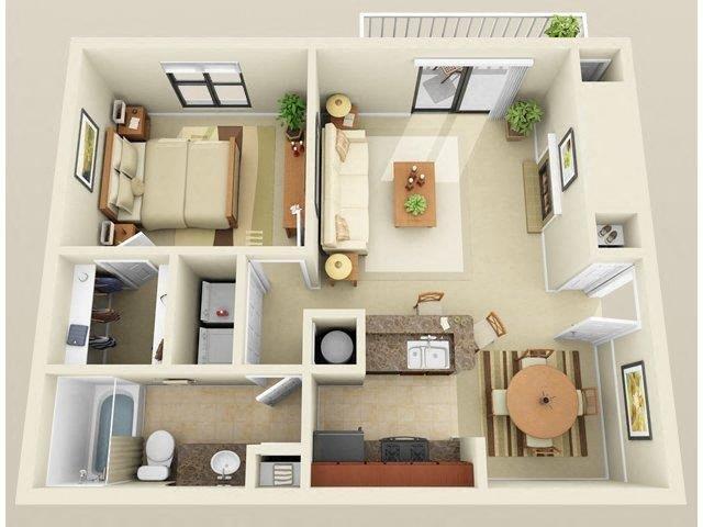 Cameron Floor Plan 1