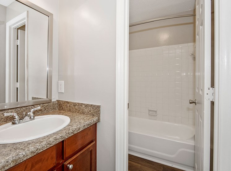 Apartment Bath 3 at Sommerset Place in Raleigh NC