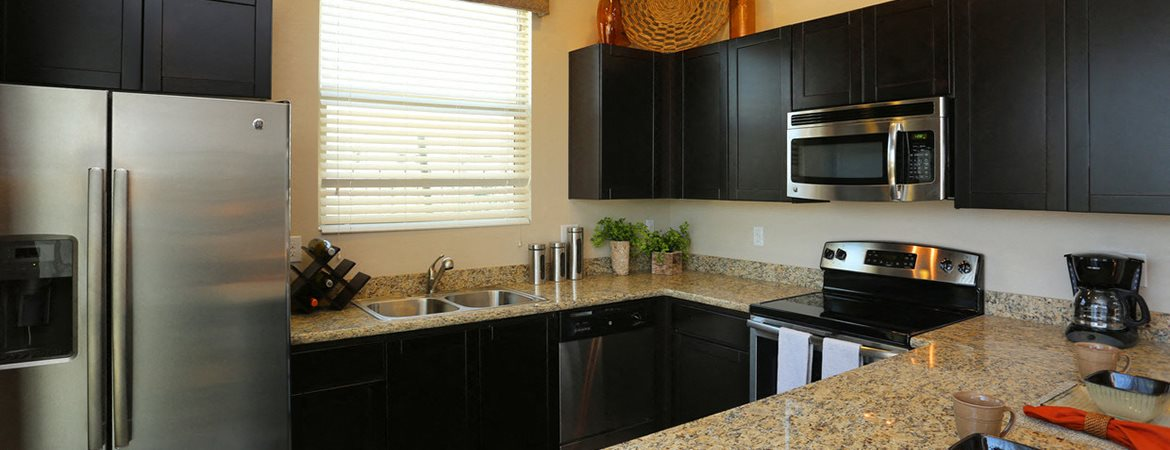 Kitchen at Palm Valley Villas in Goodyear, AZ