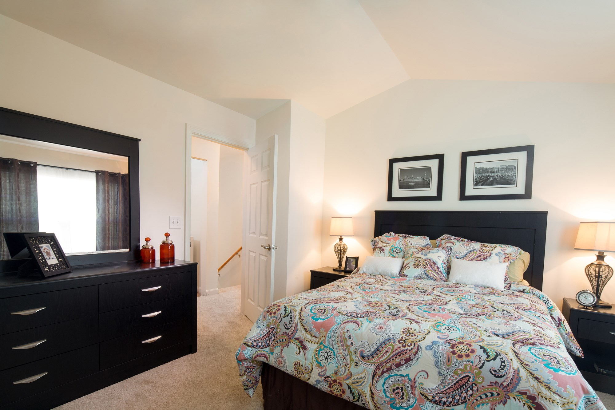Bedroom at Huntington Townhomes in Shelton, CT
