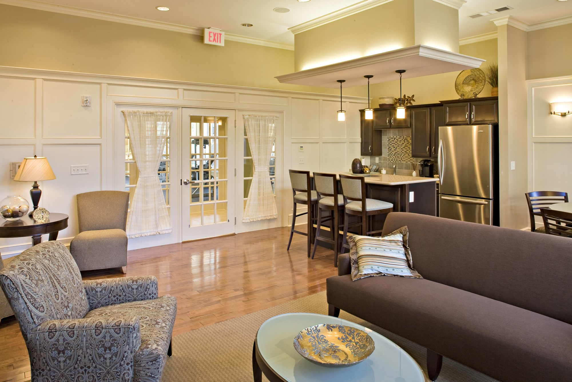 Clubhouse at Huntington Townhomes in Shelton, CT