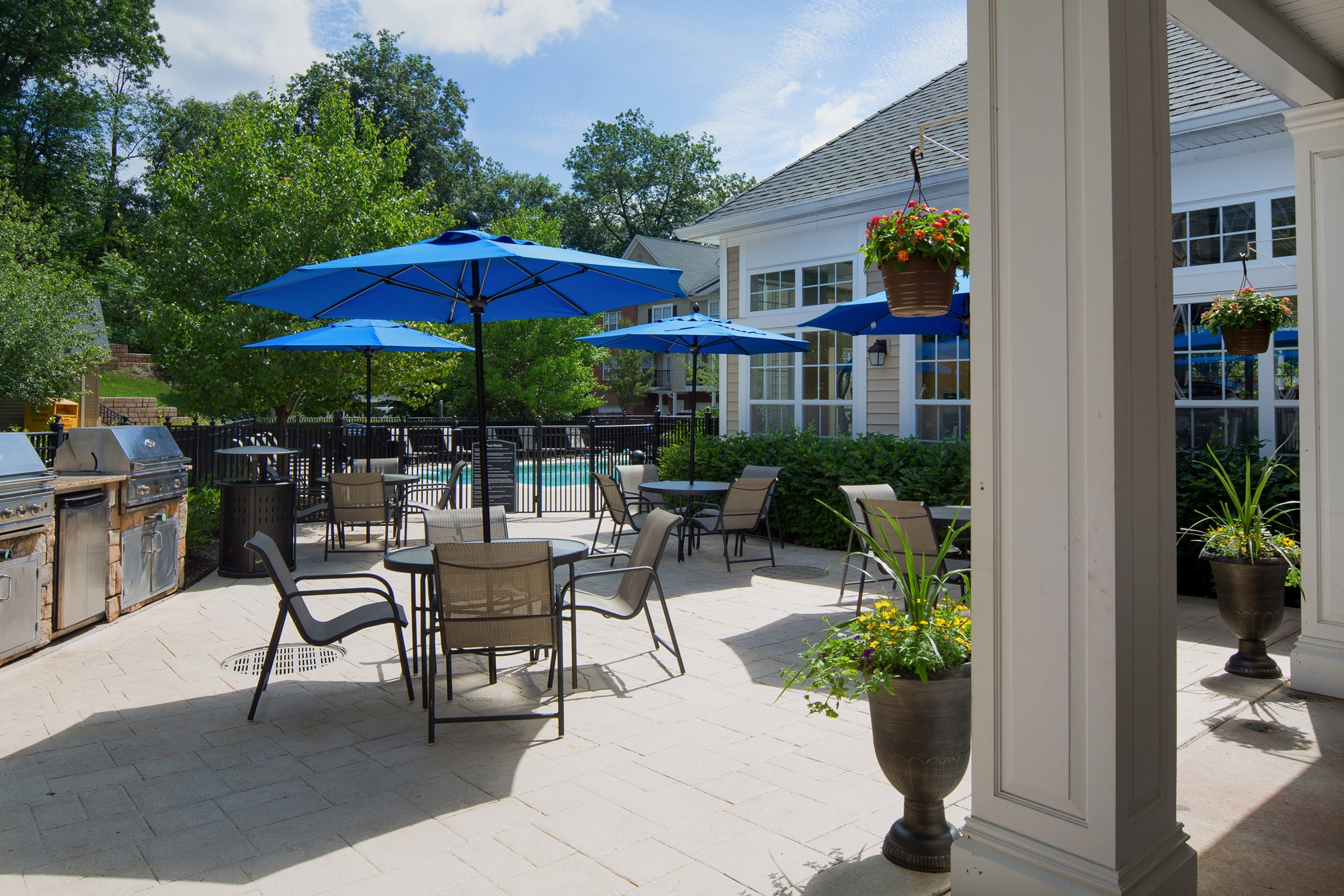 Grills at Huntington Townhomes in Shelton, CT