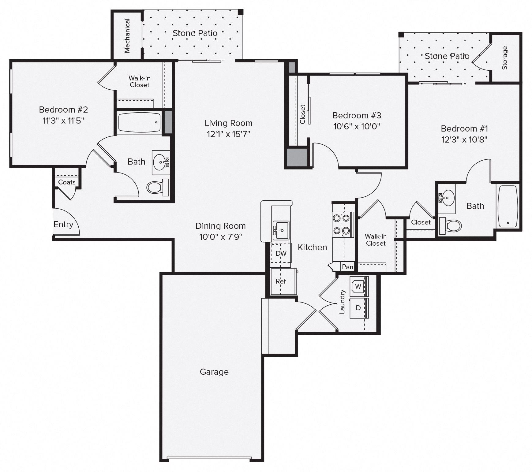 3 Floor Plan 13