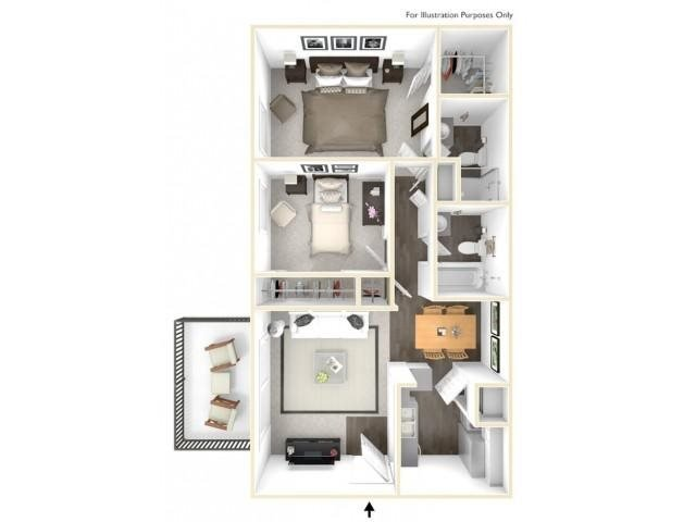 The Balboa Floor Plan 1