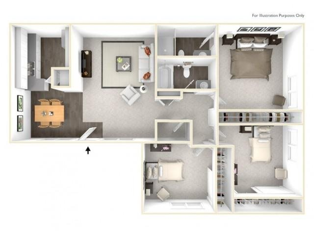 The Catalina Floor Plan 4