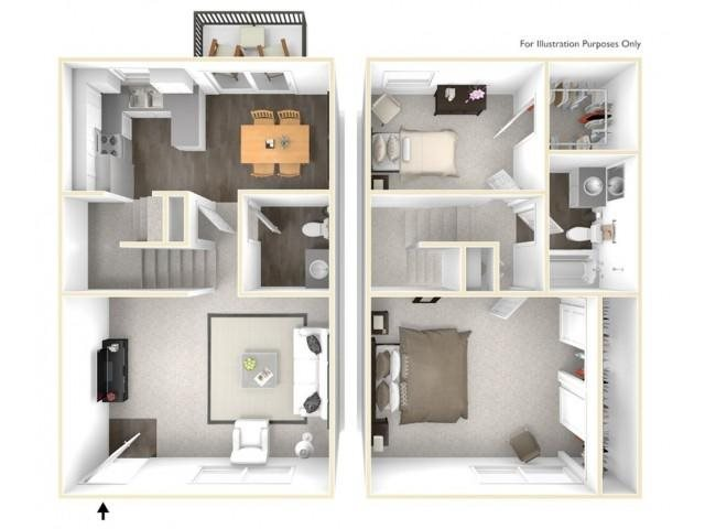 The Laguna Floor Plan 3