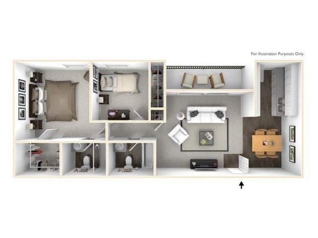 The Monarch Floor Plan 2
