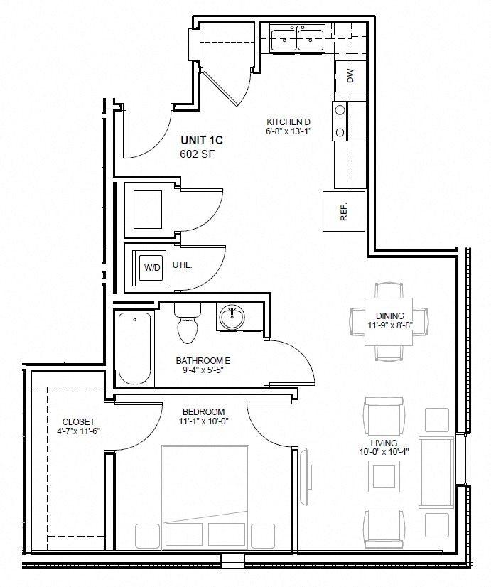 1C Floor Plan 3