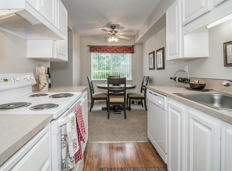 Remodeled Kitchens w/Custom Cabinetry at Canyon Park, Beaverton,Oregon