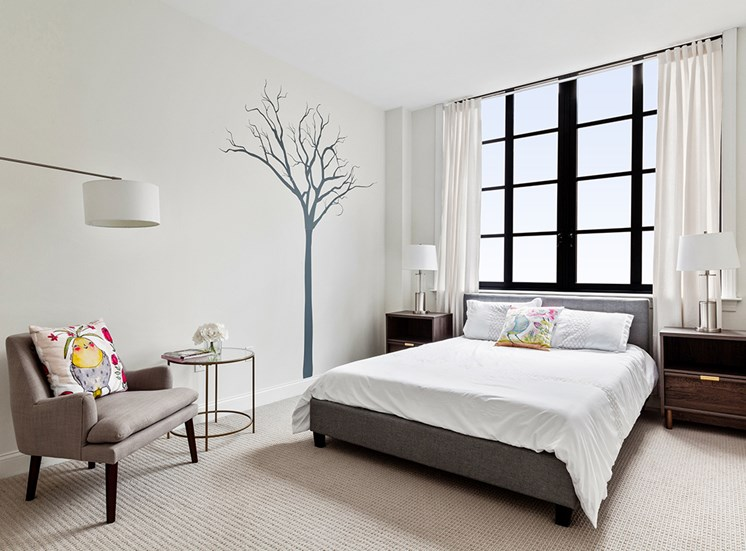 Over sized Windows With Natural Light