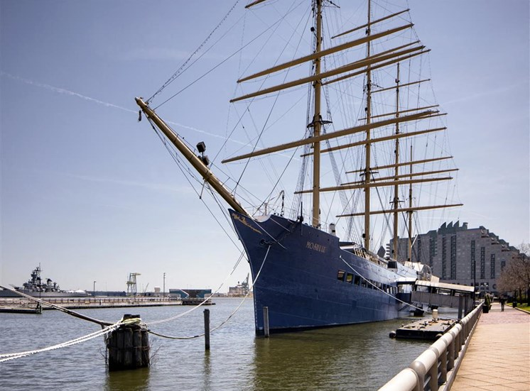 tallship located in phildelphia