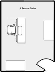 1 Person Suite