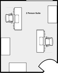 2 Person Suite