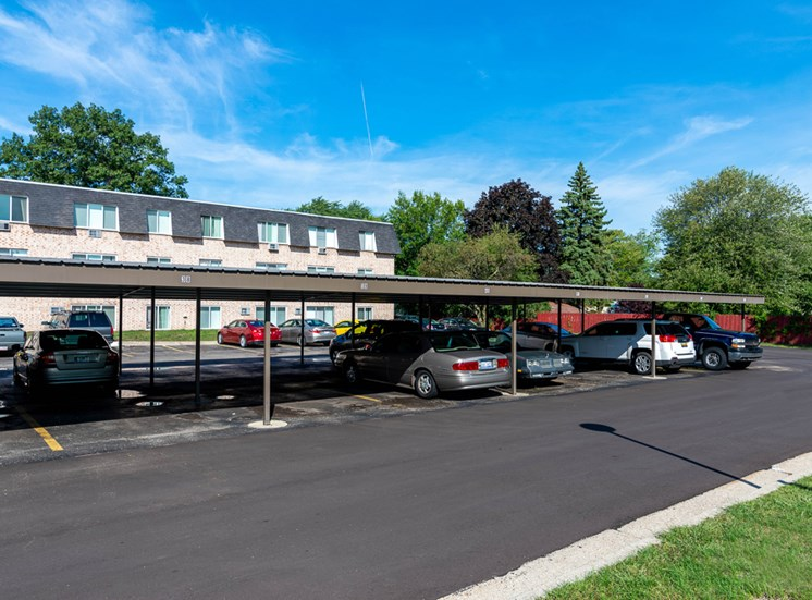 Carports Available at Shores of Roosevelt Park Apartments