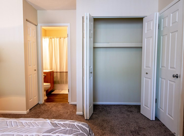 Ample Storage Space at Shores of Roosevelt Park Apartments