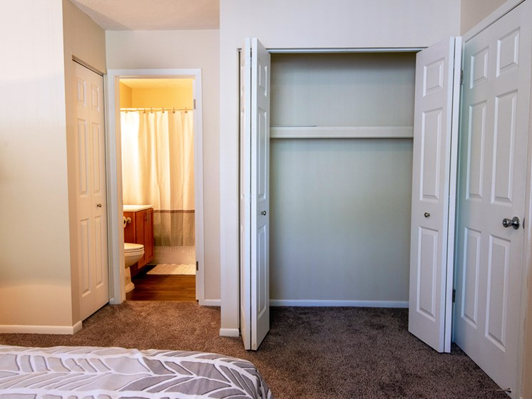 Ample Storage Space at Shores of Roosevelt Park Apartments in Muskegon MI