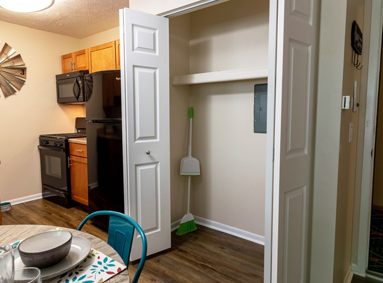 Ample Closet Space at Shores of Roosevelt Park Apartments