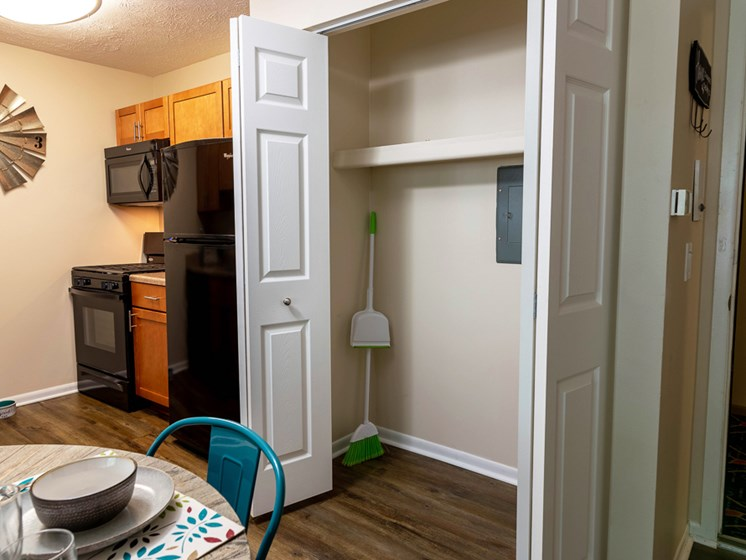 Ample Closet Space at Shores of Roosevelt Park Apartments in Muskegon MI