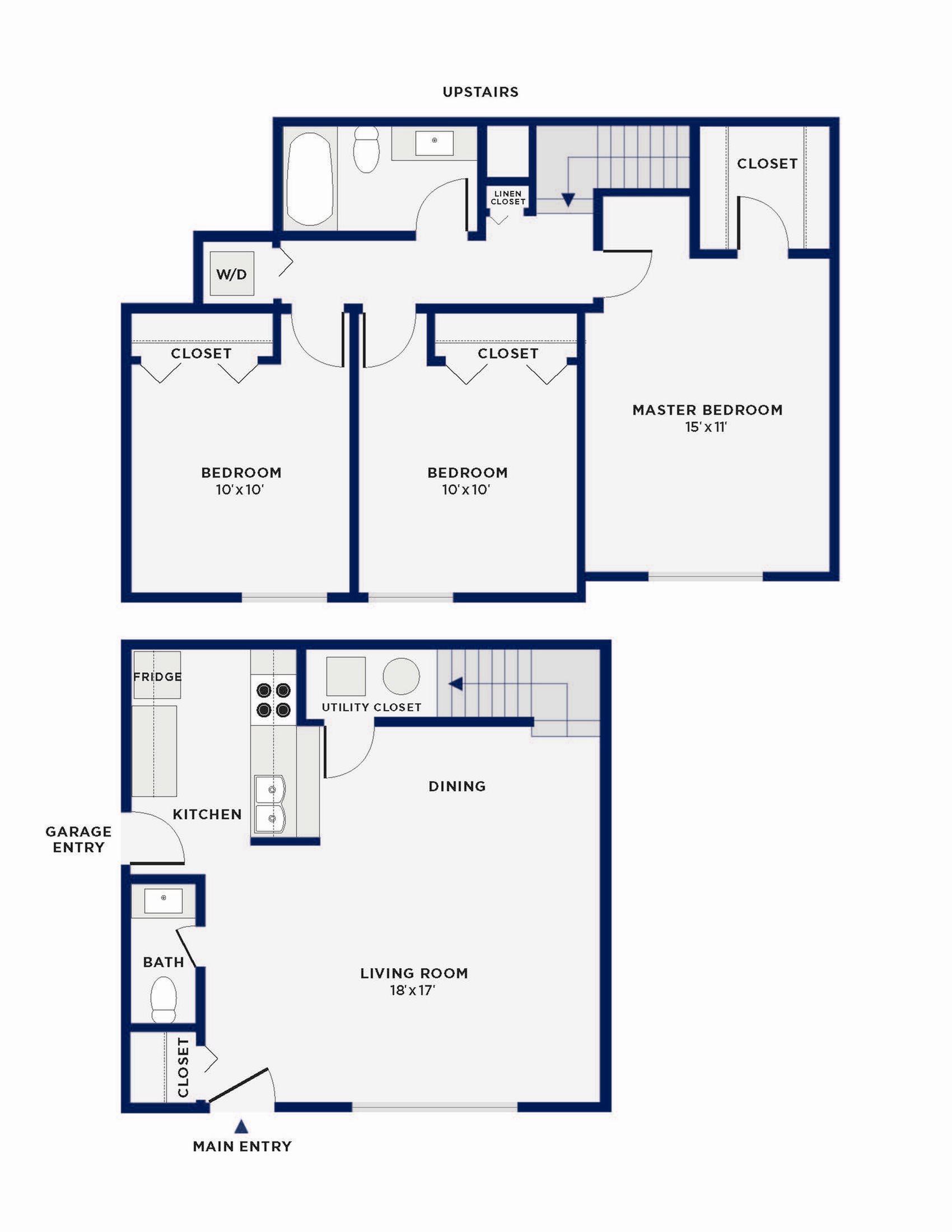 Kenwood Floor Plan 4